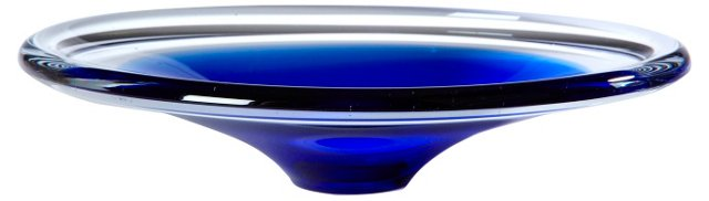 Flygors-Style Blue Bowl
