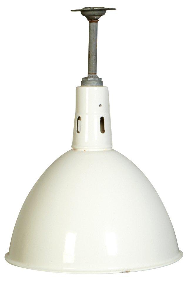 White Industrial Pendant