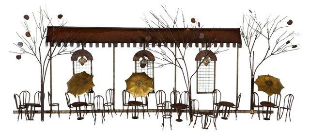 Curtis Jeré Parisian Café Sculpture