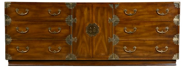 Asian-Inspired Dresser by James Mont