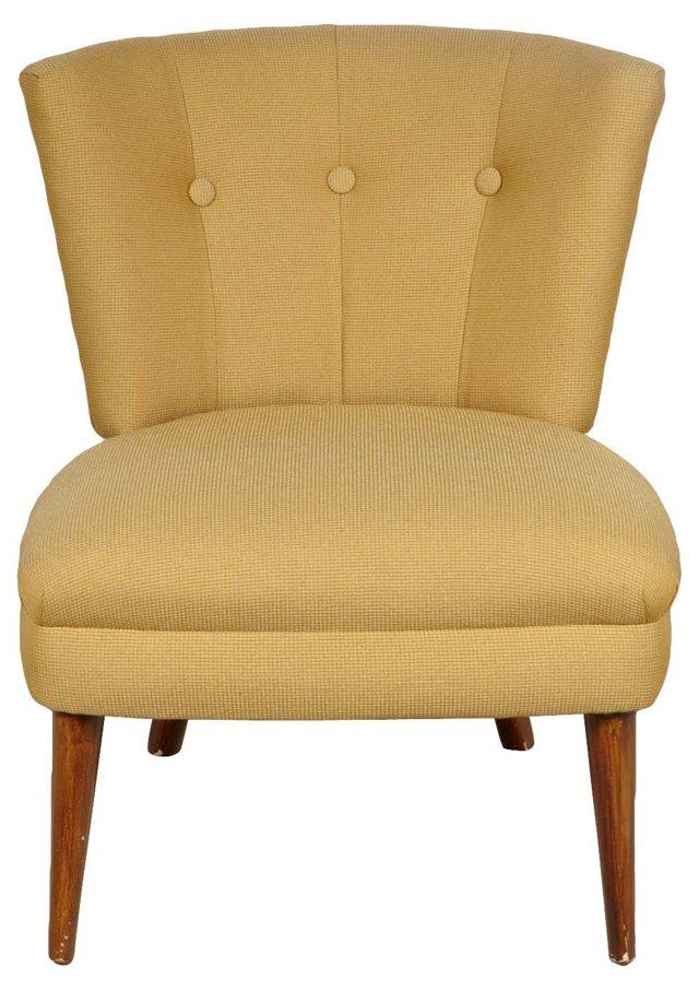 1960s  Kroehler Slipper Chair