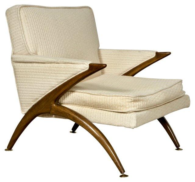 1960s Vladimir Kagan-Style Chair