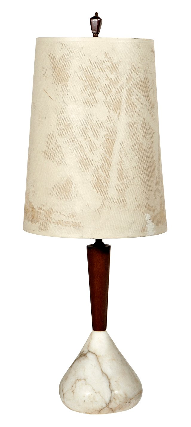 1960s Marble-Base Lamp