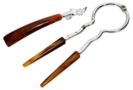 Bakelite Handled Tools,  Pair