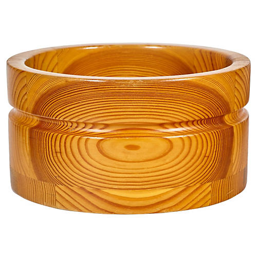 Wood Serving Bowl by Stig Johnsson