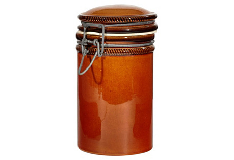 Italian Ceramic Kitchen Jar