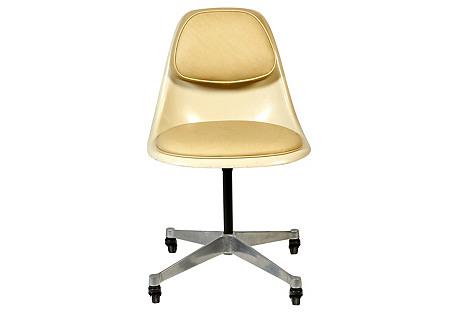 1960s Herman Miller Padded Desk Chair