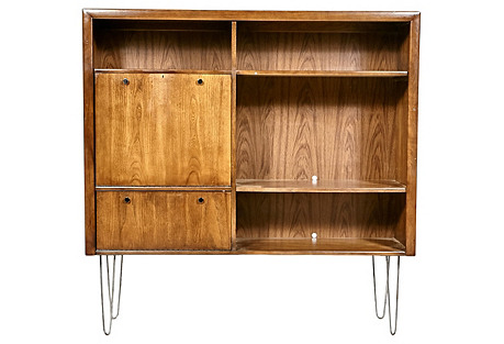 1960s Hairpin Legged Storage Cabinet
