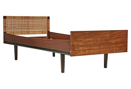 1960s Danish Teak Child's Bed