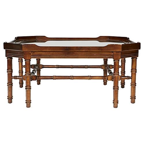 Lane Furniture Bamboo-Style Coffee Table