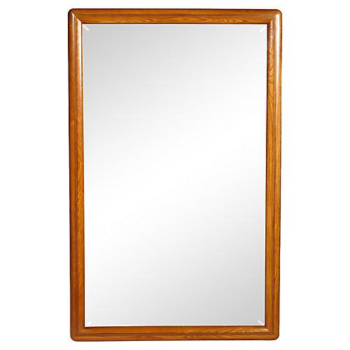 Drexel Oak Wall Mirror