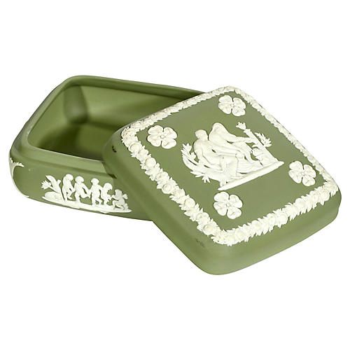 Wedgwood Sage Green Box