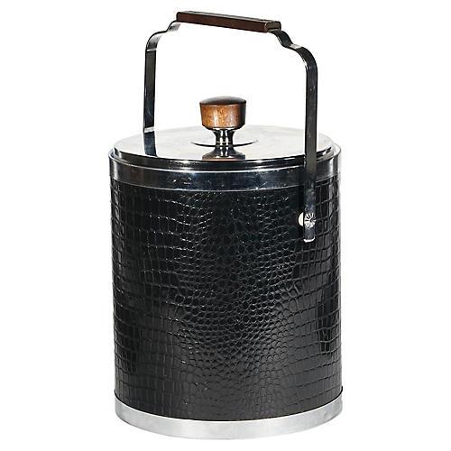 1960s Kromex Handled Ice Bucket