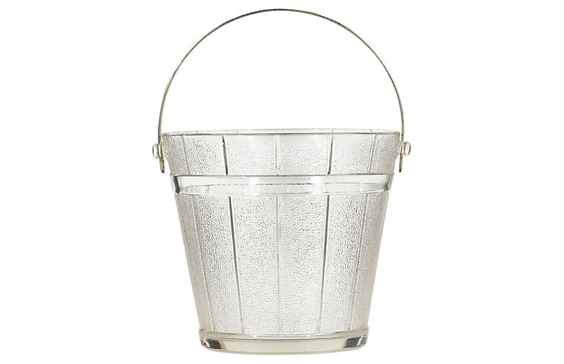 1950s Textured Panel Ice Bucket