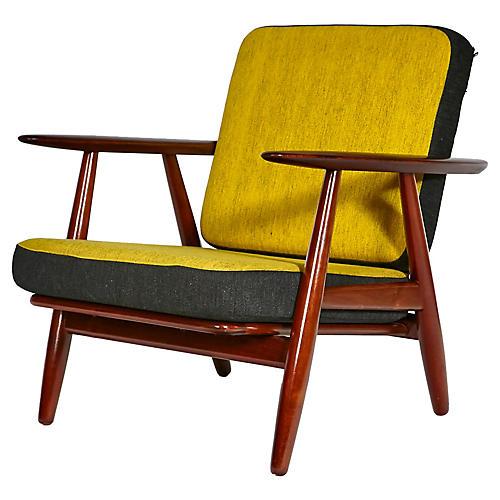 1960s Hans J. Wegner Cigar Chair