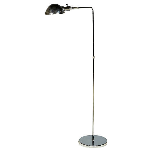 Chrome Task Floor Lamp