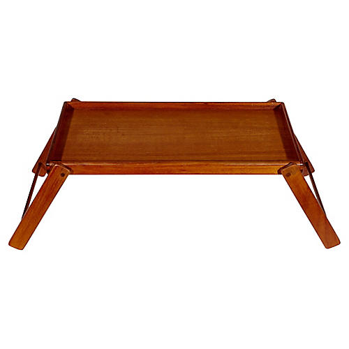 1970s Teak Breakfast Tray