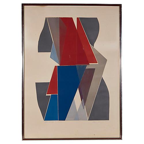 """1971 """"Homage to Casals"""" Elaine Breiger"""