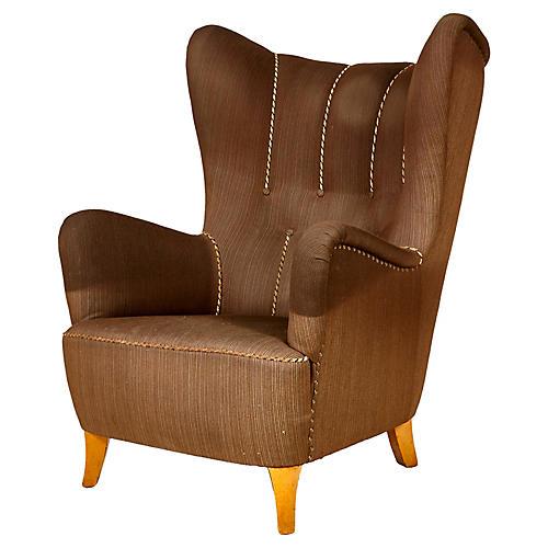 1950s Danish Modern Lounge Chair