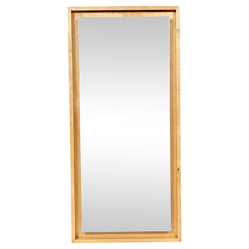 Inset Maple Mirror