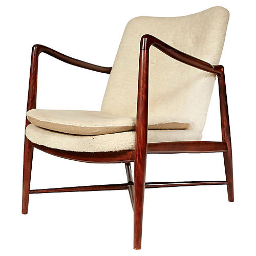 Finn Juhl Beechwood Lounge Chair