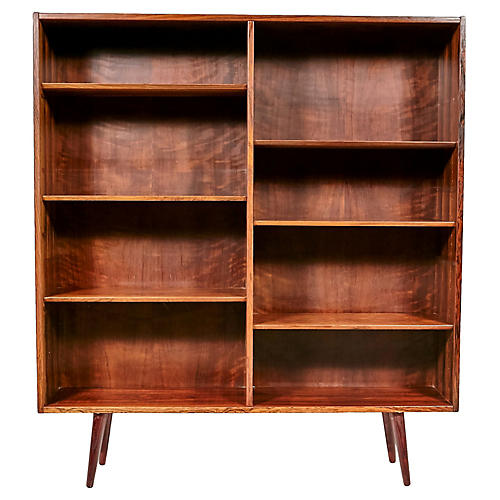 Rosewood Bookcase by Poul Hundevad