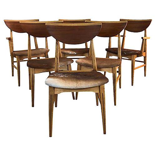 Lane Furniture Dining Chairs, Set of 6