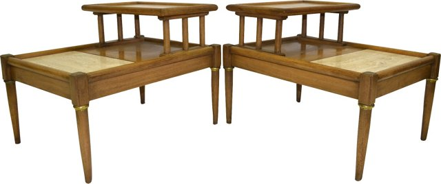 Tables Attr. to Harvey Probber, Pair