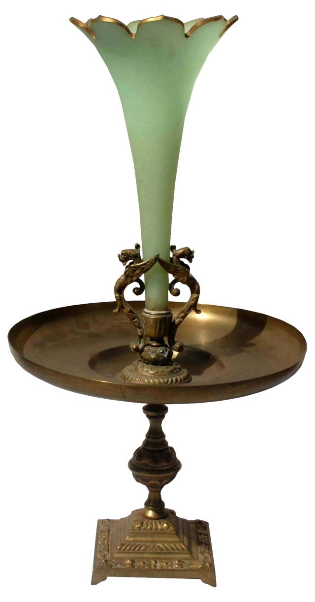Antique French Vase Centerpiece
