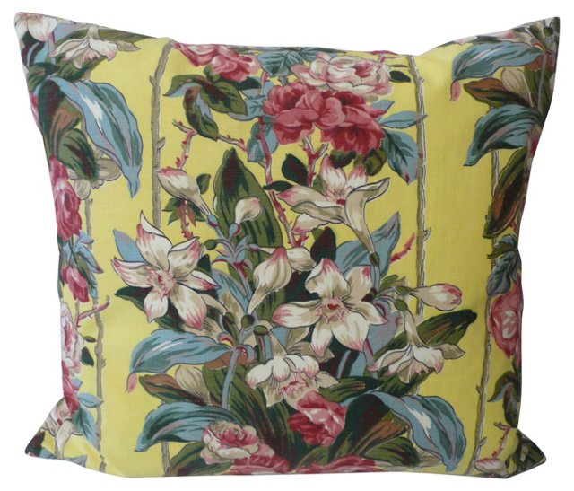 Tuberose & Rose Pillow