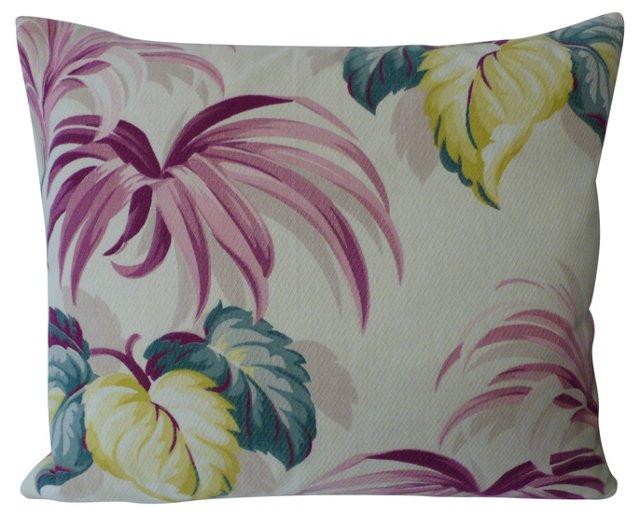 Plum Lily    Pillow