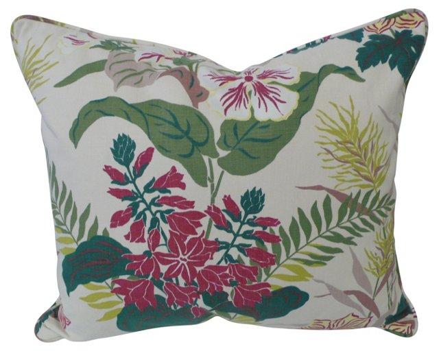 Exotic Floral Pilow