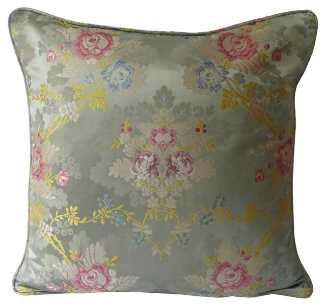 French Silk Pillow