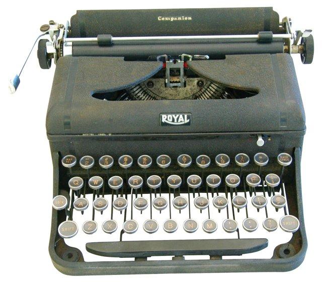 Royal Companion Typewriter