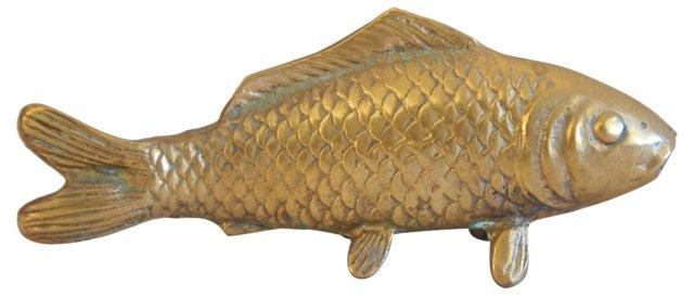 1960s Brass Fish