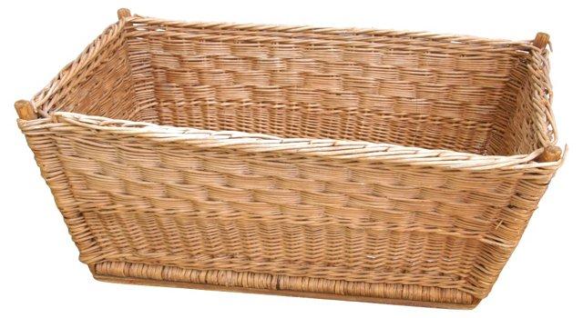 Antique Laundry Basket