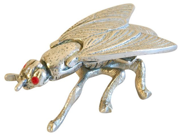 Midcentury Fly Trinket Box