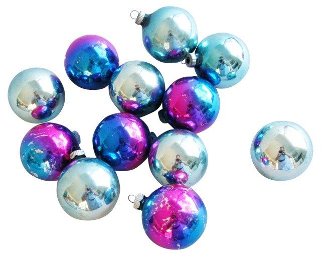 Ombré  Ornaments, S/12