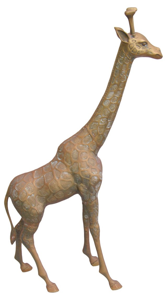 1950s Brass        Giraffe