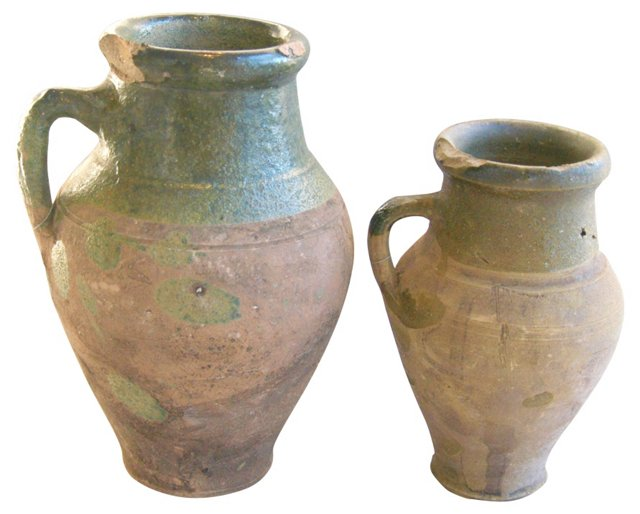 Antique Vessels, Pair