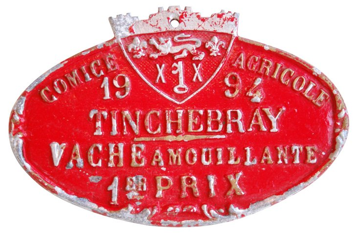1st Prize  French Trophy Plaque, 1994