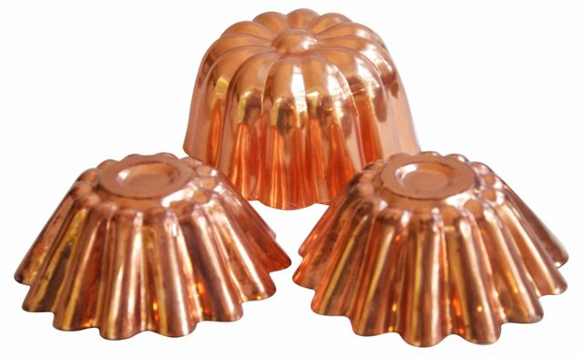 1960s    Copper Molds, S/3