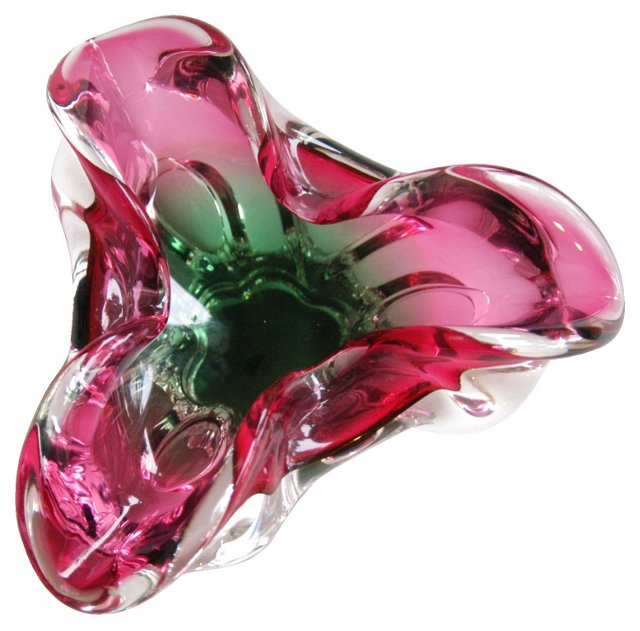 1960s Italian Art Glass Dish