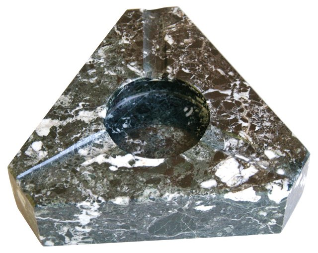 Italian Marble Slab Ashtray