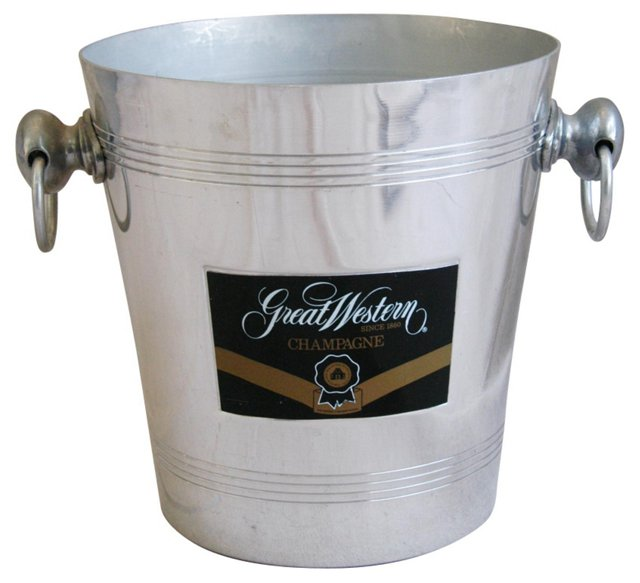 French Great Western Champagne Bucket