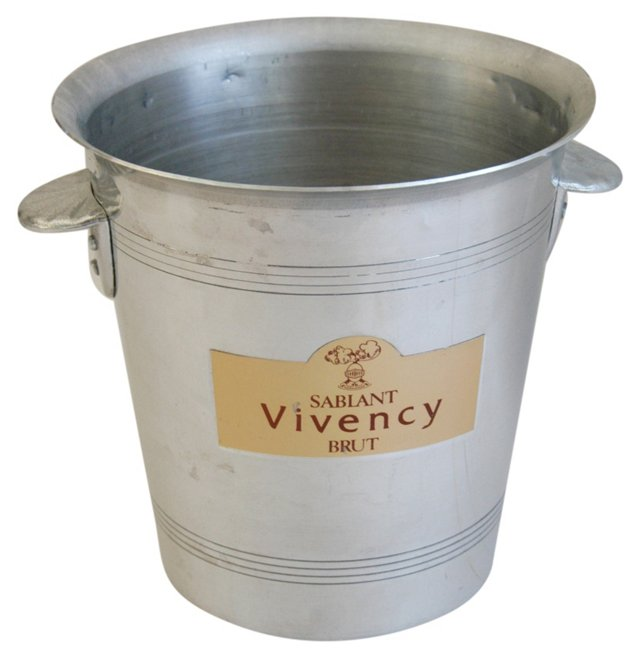 French Sablant Vivency Champagne Bucket