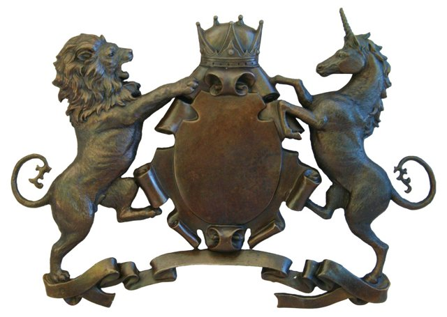 Solid     Bronze  Heraldry      Shield
