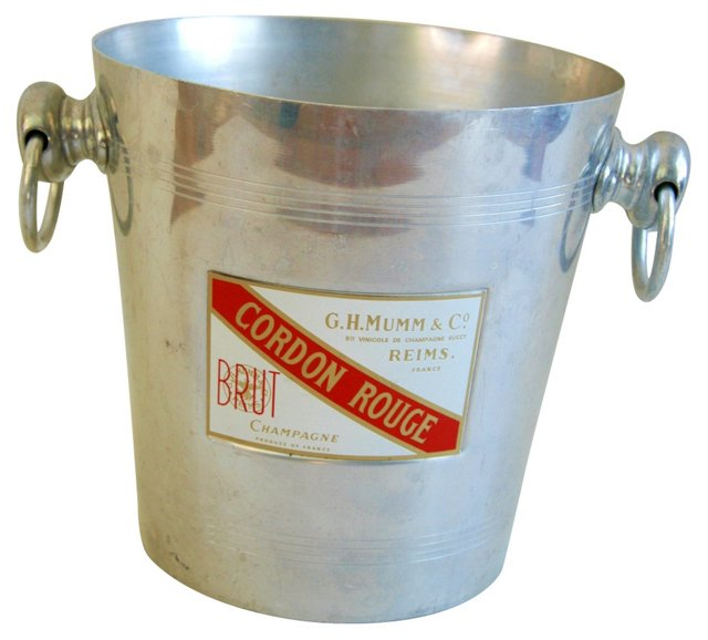 French    Cordon Rouge Champagne Bucket