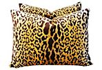 Scalamandré Leopardo Pillows,    Pair