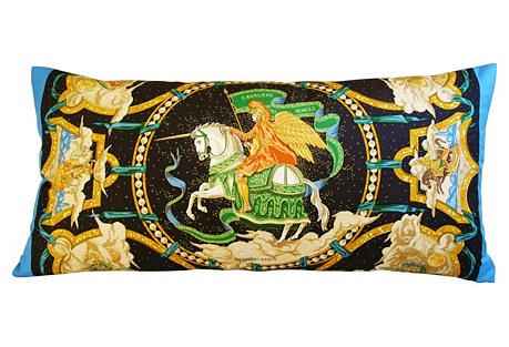 Hermès Cavaliers des Nuages Pillow